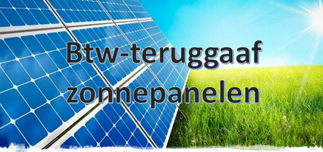 btw teruggaaf zonnepanelen bespaarpartner